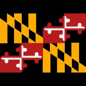 Transparent Maryland Flag