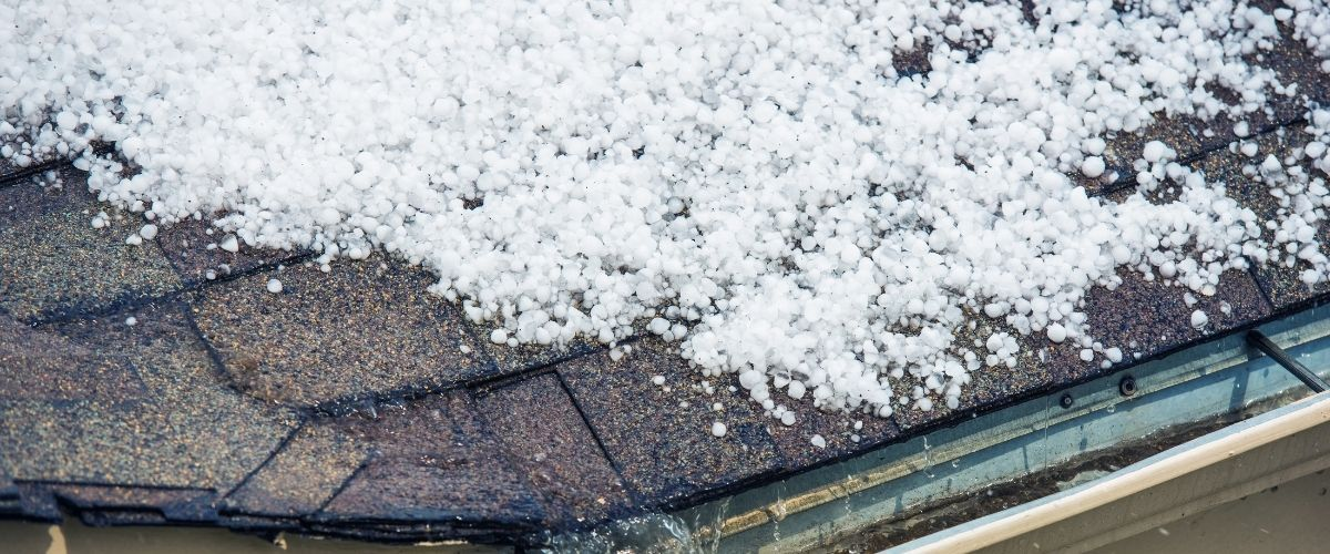 Roof Damage By Hail